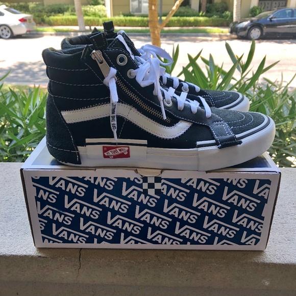 2e5818fd8 Vans Shoes | Vault Sk8 Hi Cap Lx Cut Paste Black | Poshmark